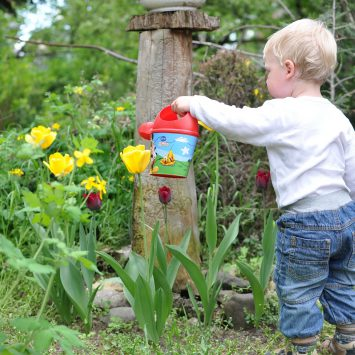 Five tips for gardening with children