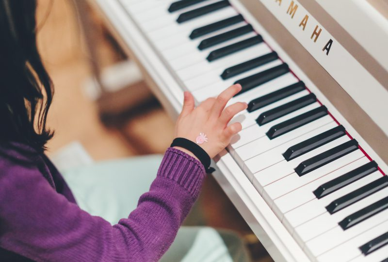 Learning an instrument: how to help your child to practice